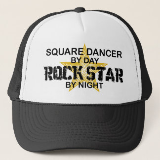 Square Dancer Rock Star by Night Trucker Hat
