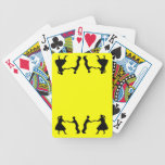 Square Dancers Bicycle Playing Cards