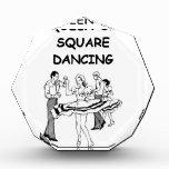 square dancing acrylic award