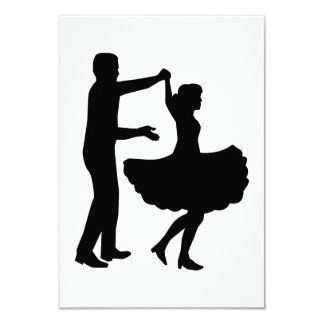 Square dancing card