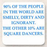 square dancing coasters