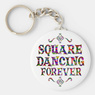 Square Dancing Forever Key Chains