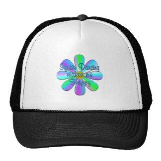 Square Dancing Happy Trucker Hat