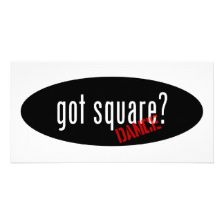 Square Dancing Items – got square Photo Card