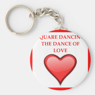 square dancing keychain