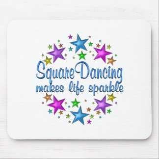 Square Dancing Makes Life Sparkle Mouse Pad