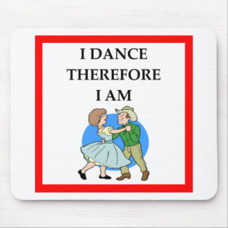 square dancing mouse pad