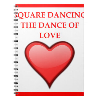 square dancing notebook