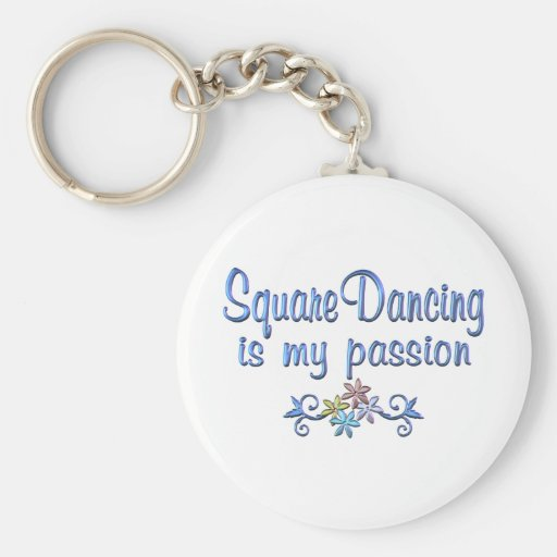 Square Dancing Passion Key Chain