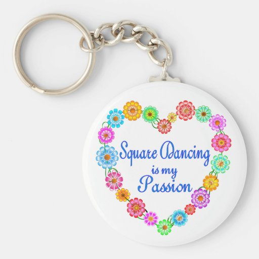 Square Dancing Passion Key Chains