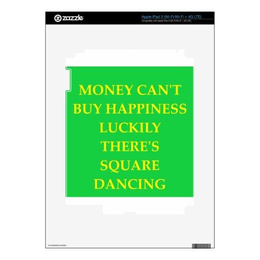 square dancing skin for iPad 3