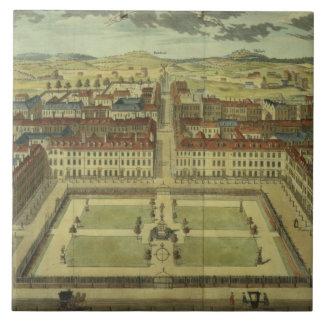 Square de Soho o de rey, para la 'encuesta sobre e Azulejo Cuadrado Grande