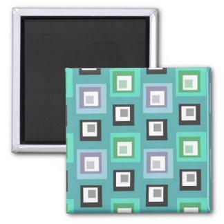 Square Design Magnet