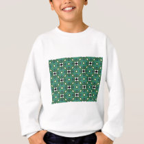 square design pattern sweatshirt
