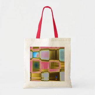 Square design Tote Bag