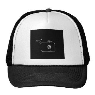 Square dolphin trucker hat