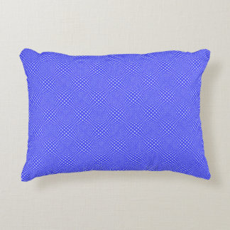 Square Dot Globe Decorative Pillow