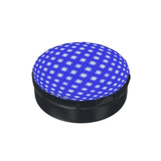 Square Dot Globe Jelly Belly Tins