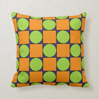 Square dot pillow
