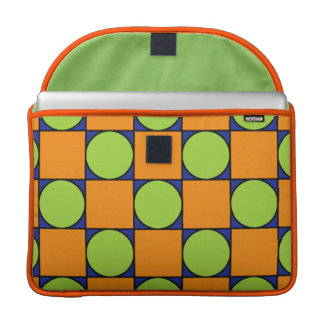 Square dots MacBook pro sleeves