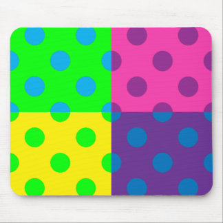 Square Dots Mouse Pad