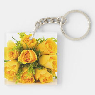 Square (double-sided) Keychain