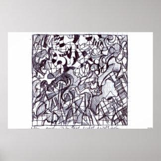 Square Drawing Print