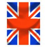 square english flag custom letterhead