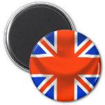 square english flag magnet