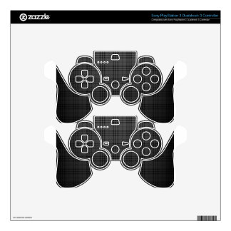 Square Fabric Decal For PS3 Controller