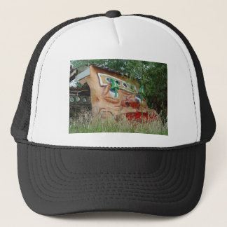 Square Face Trucker Hat