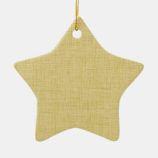 Square Fashion Double-Sided Star Ceramic Christmas Ornament