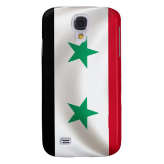 Square flag of Syria, ceremonial draped Galaxy S4 Case