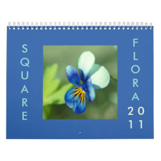 Square Flora 2011 Calendar