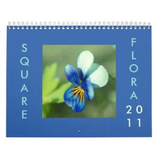 Square Flora 2011 Wall Calendar