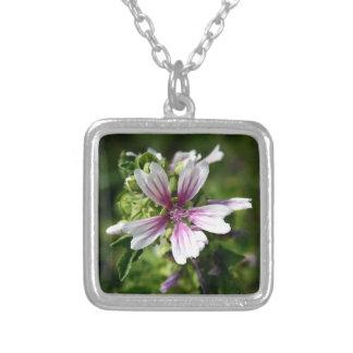 Square Floral Necklace