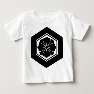 Square flower with Swords in tortoiseshell Baby T-Shirt