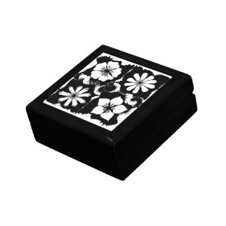 square flowers gift boxes