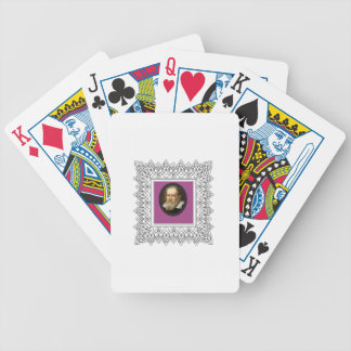 square galileo bicycle playing cards