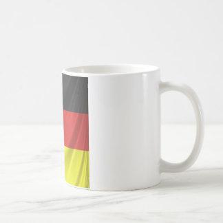 square german flag draped mugs
