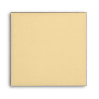 Square Gold Linen Envelopes