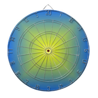 Square Gradient - Blue to Yellow Dartboards