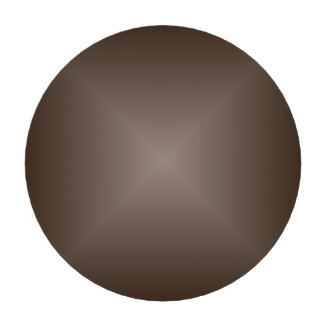 Square Gradient - Dark Brown and Light Brown Poker Chips Set