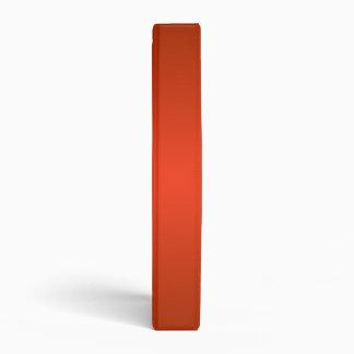 Square Gradient - Dark Red and Light Red Vinyl Binder