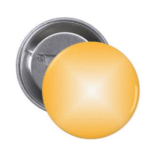 Square Gradient - Orange and White 2 Inch Round Button