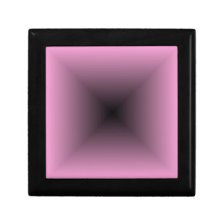Square Gradient - Pink and Black Gift Box