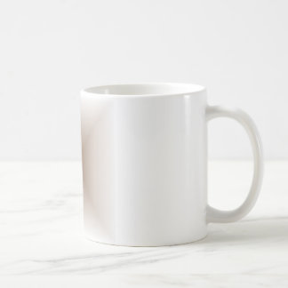 Square Gradient - White and Brown Coffee Mug