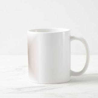Square Gradient - White and Brown Coffee Mug