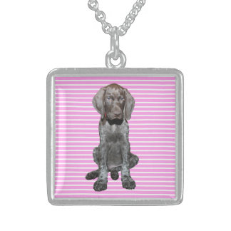 square    grizzly pink stripes.jpg square pendant necklace