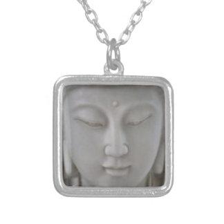 Square Guan Yin pendant